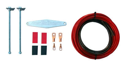 Straight Shot Performance Battery Tie Down Kit