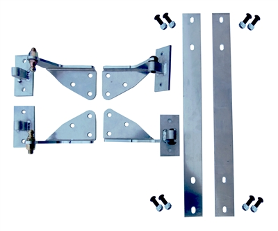 Straight Shot Performance Mustang Fiberglass door Hinge Set 79-93