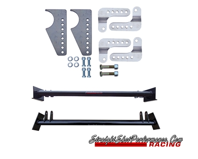 Weld in Upper Coilover Bar and lower coilover mounts (79-04 Mustang)