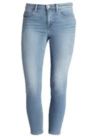 J Brand cropped rail oceanside light blue jeans