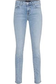 J Brand 811 Skinny jean decades crease light blue  