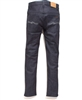 men's Nudie jeans tape ted grey embo blue stretch