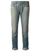 Rag & Bone The Dre Boyfriend Jeans in Green Cast style model # Style#W1590K880