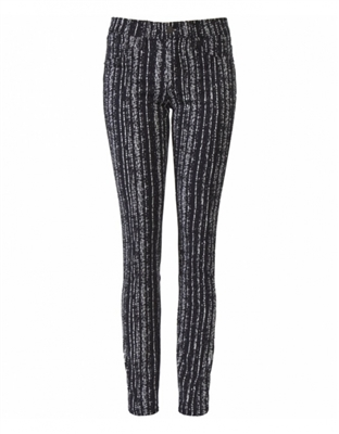 Rag & Bone Denim Women's Leggings Barcode Wash Size 25-Premium Denim