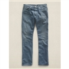 Ralph Lauren RRL Low Straight American Woven Selvedge Denim Jeans Blue Sulfur Wash Size 32 x 32 - Premium Denim