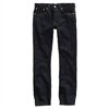 Double RL Denim RRL Slim bootcut jeans once washed blue Ralph Lauren RRL Slim Straight rigid dark blue selvedge denim - Premium Denim