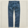 Ralph Lauren RRL Slim Fit Selvedge Denim Jeans State Blue Wash Size 29-Premium Denim