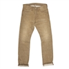 Ralph Lauren RRL Straight Leg Japan Woven Selvedge Denim Jeans Light Grey Soot Wash Size 32 - Premium Denim
