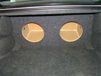 Dodge Charger Single / Dual Subwoofer Box