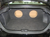 Ford Fusion Accord Single / Dual Subwoofer Box