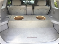 Toyota Highlander Single / Dual Subwoofer Box