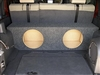 Jeep Unlimited  Single / Dual Subwoofer Box