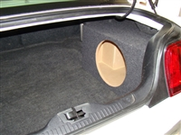 Ford Mustang Single Subwoofer Box