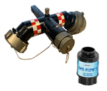 "4"" Male NH Digital Flow Meter & Diffuser"