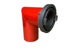"5"" Storz Fire Hydrant Dump Elbow"