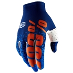 100% 2018 Celium II Gloves - Navy/Orange