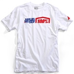 100% 2018 Division Tee - White