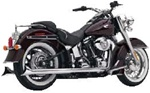 VANCE & HINES SOFTAIL DUALS AND SLIP-ONS