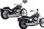VANCE & HINES Q-SERIES DOUBLE BARREL