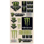 N-Style Monster Sticker Sheet