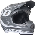 6D 2018 ATR-2 Aero Full Face Helmet - Grey