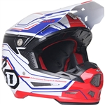6D 2018 ATR-2 Circuit Full Face Helmet - White