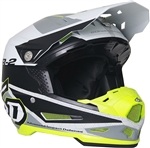 6D 2018 ATR-2 Metric Full Face Helmet - White