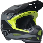 6D 2018 ATR-2 Sector Full Face Helmet - Grey/Black