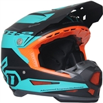 6D 2018 ATR-2 Sector Full Face Helmet - Teal