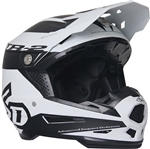 6D 2018 ATR-2 Sector Full Face Helmet - White/Black