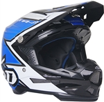 6D 2018 ATR-2 Strike Full Face Helmet - Blue/White