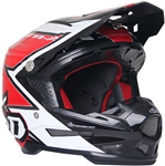 6D 2018 ATR-2 Strike Full Face Helmet - Red