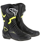 Alpinestars 2018 SMX-6 V2 Boots - Black/Yellow Vented