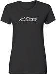 Alpinestars 2018 Womens Blaze Round Neck Tee - Black