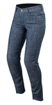 Alpinestars 2018 Womens Stella Courtney Denim Pant - Washed Blue