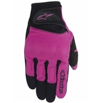 Alpinestars 2018 Womens Stella Spartan Gloves - Black/Rose/Violet
