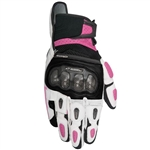Alpinestars 2018 Womens Stella SPX Air Carbon Gloves - Black/White/Fuchsia
