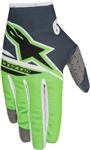 Alpinestars 2018 Youth Radar Flight Gloves - Anthracite/Green