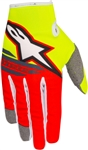 Alpinestars 2018 Youth Radar Flight Gloves - Yellow/Red/Anthracite