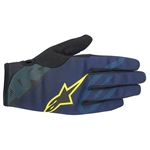 Alpinestars 2018 Stratus Gloves - Deep Blue Acid Yellow