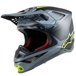 ALPINESTARS - SUPERTECH S-M10 HELMET BLACK/GREY/YELLOW