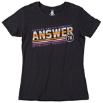 Answer 2018 Womens Ascend Tee - Black