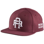 Answer 2018 Collegiate Snapback Hat - Maroon