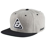 Answer 2018 Icon Snapback Hat - Heather Gray