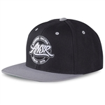 Answer 2018 League Snapback Hat - Black/Silver