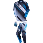 Answer - Syncron Air Jersey, Pant Combo (Youth)- Black/Cyan