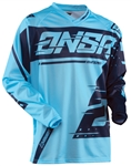Answer 2018 Syncron Jersey - Cyan/Navy