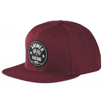 Answer 2018 Victory Snapback Hat - Burgundy
