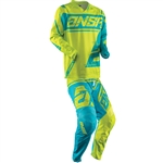 Answer 2018 Youth Syncron Air Combo Jersey Pant - Acid/Cyan
