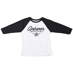 Answer 2018 Youth Team 76 Long Sleeve Tee - Black/White